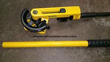 Manual Bench Mounted Tube Pipe Bender metal steel copper bending workshop bends