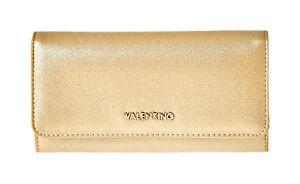 VALENTINO MARILYN Multi Clutch Oro, Damen-Geldbörse Portemonnaie Wallet