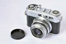 VOSS DIAX IIb RANGEFINDER CAMERA w/ ISCO-GOTTINGEN 50mm F/3.5 LENS For Parts