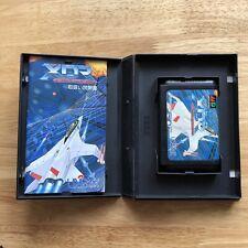 XDR DAZEDLY RAY-Sega MegaDrive Japón JPN-importación Shooter cornisa Completa