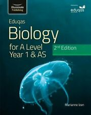 Eduqas Biology for A Level Year 1 & AS Student Book: 2nd Edition 97819128205