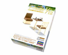 Hasegawa Furniture Model 1/12 Family Restaurant Table & Chair FA07 62007 H2007