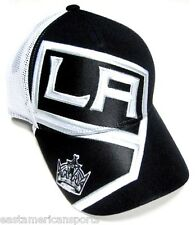 huge selection of 1fc20 f596b Los Angeles Kings NHL Reebok Black White Mesh Hat Cap Stadium Series  Snapback