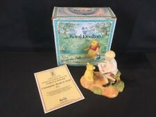 Royal Doulton Christopher Reads To Pooh Winnie The Pooh (ref G670)