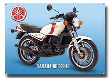 YAMAHA RD 350 LC METAL SIGN. BIKES,RACING,JAPANESE BIKE. A3