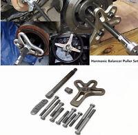 23x Car Wheel Puller Harmonic Balancer Steering Gear Crank Shaft Damper Tool Kit