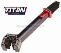 Titan Sludge Grime Dirt Grunge Chain Cleaning Brush Motorcycle Atv Bicycle Mx