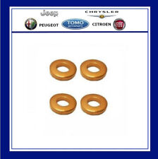 Peugeot / Citroen 1.6 HDI DV6 injector Copper Washer Seals x 4 Genuine New 1
