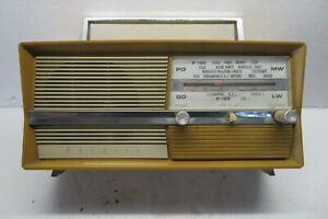 Poste Radio Optalix petites grandes ondes 1968 piles/secteur vintage