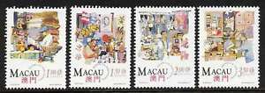Macao 735-8 MNH Traditional Chinese Shops, Food