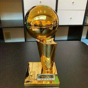 Tim Duncan Signed San Antonio Spurs NBA Championship Trophy With Beckett COA