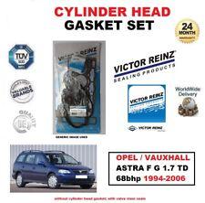 victor reinz Set Joint de culasse pour Opel ASTRA F G 1.7 TD 68BHP 1994-2006