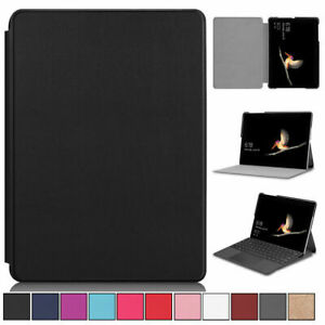 Folio Ultra Slim Leather Stand Case Cover For Microsoft Surface Go 1st 2nd