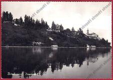 VARESE BIANDRONNO 04 LAGO Cartolina FOTOGRAFICA viaggiata 1953