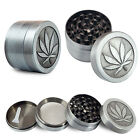 4 Layers Alloy Tobacco Crusher Hand Muller Leaf Smoke Herb Grinder Magic