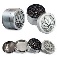 4 Layers Alloy Tobacco Crusher Hand Muller Leaf Smoke Herb Grinder Magic