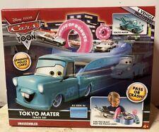 Disney Pixar Cars TOON Tokyo Mater Track Set - NIB