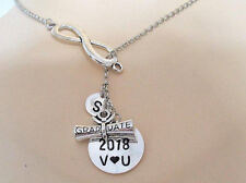 Class of 2018 Graduation gift for her Grad gift for daughter Infinity necklace