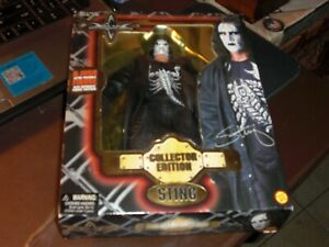 1999 WCW Toy Biz Sting Collectors Edition 8 inch Wrestling Figure New Sealed*