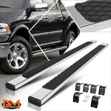 "For 09-20 Dodge RAM 1500-3500 Crew Cab 5""Side Step Nerf Bar Running Board Chrome"