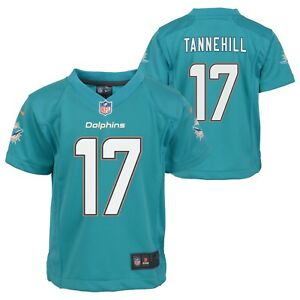 Ryan Tannehill Miami Dolphins NFL Nike Boys Teal  Game Jersey