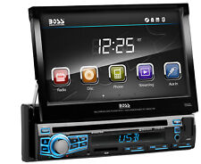 "BOSS Audio BV9976B Car DVD Player – Bluetooth, 7"" LCD, Multi-color Illumination"