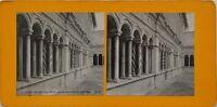 Roma San Jean Da IN Laterano Chiostro Italia Foto Stereo Vintage Analogica