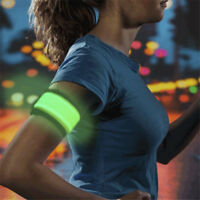 LED Flashing Safety Night Reflective Belt Strap Arm Band for Cycling Running