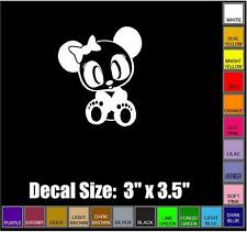 PANDA GIRL DECAL - JDM, LOW RIDER, IMPORT Car (vehicle) Decal