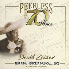 70 Años Peerless Una Historia Musical by David Saizar (CD, Sep-2003, WEA Latina)