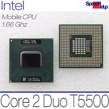 MOBILE CPU PROCESSORE INTEL CORE 2 DUO T5500 1660MHZ 1. 66GHZ 2MB 667MHZ SL9SH