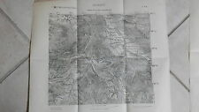 Map Map Salerno Military Geographic Institute IgM Sheet 185 2ne and
