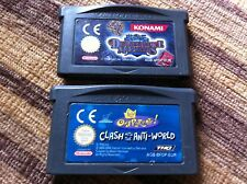 LOTE DE 2 JUEGOS NINTENDO GAME BOY ADVANCE