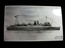 ARTIST CONCEPTION  SHIP PHOTO 1941 #7119