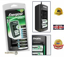 Energizer Universal Rechargable Ni-MH AA AAA C D 9V Mains Battery Charger NEW UK
