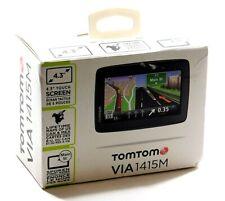 "TomTom Via 1415M 4.3"" Portable Gps Set w/ Lifetime Maps Us/Mex/Can Iq Routes"