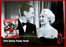 HAMMER HORROR - Series One - Card #02 - Early Sci-Fi - FOUR SIDED TRIANGLE