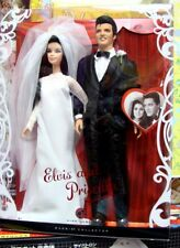 Elvis and Priscilla Barbie Dolls Wedding Doll Giftset  2008   MINT NRFB