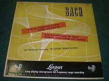 Bach Suite no 2 & 3 Munchinger~London FFRR LL-848~VG++ Vinyl~Stuttgart Chamber