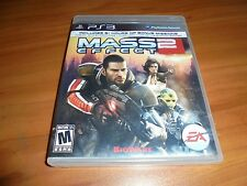 Mass Effect 2 (Sony PlayStation 3, 2011) Used Complete PS3