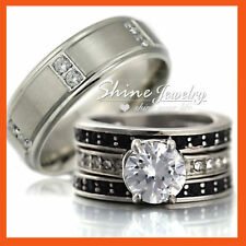 Simulated Diamond Stainless Steel Fashion Jewellery
