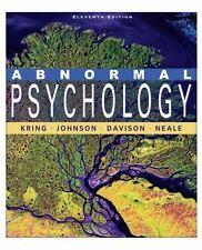 Abnormal Psychology by Gerald C. Davison, John M. Neale, Sheri L. Johnson,...