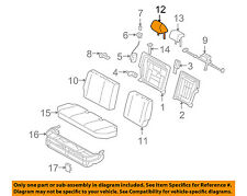 Scion TOYOTA OEM 08-10 xB Rear Seat-Headrest Head Rest, Outer 7194012A81B0