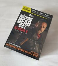 Topps The Walking Dead Season 6 Factory Sealed Trading Card Blaster Box