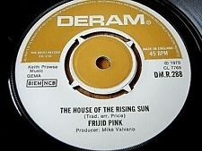 """FRIJID PINK - THE HOUSE OF THE RISING SUN      7"""" VINYL"""