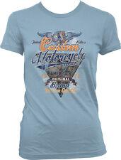 Custom Motorcycle America's Original Brand Fastest Riders Wings Juniors T-Shirt