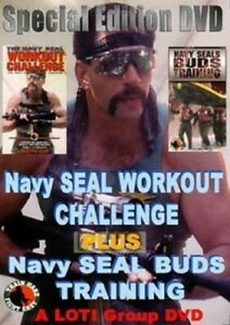 Navy Seal Workout Challenge & Navy Seal Buds Training [New DVD]