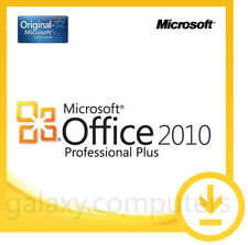New Microsoft Office 2010 Pro Professional - 2 PCs - 24/7 Support