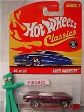 2006 Hot Wheels Classics S2 #3 '65 Chevy CORVETTE 1965∞lt purple-Pink Vette ∞
