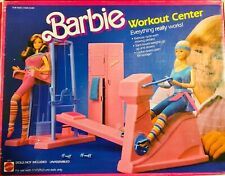Mib/Nrfb Vintage Barbie Workout Center Circa 1984 near Complete Set